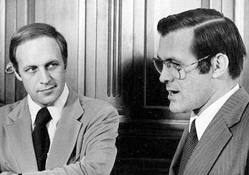 Cheney and Rumsfeld, 1975