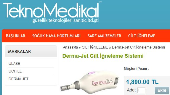 Teknomedikal-DermaJet-Scam
